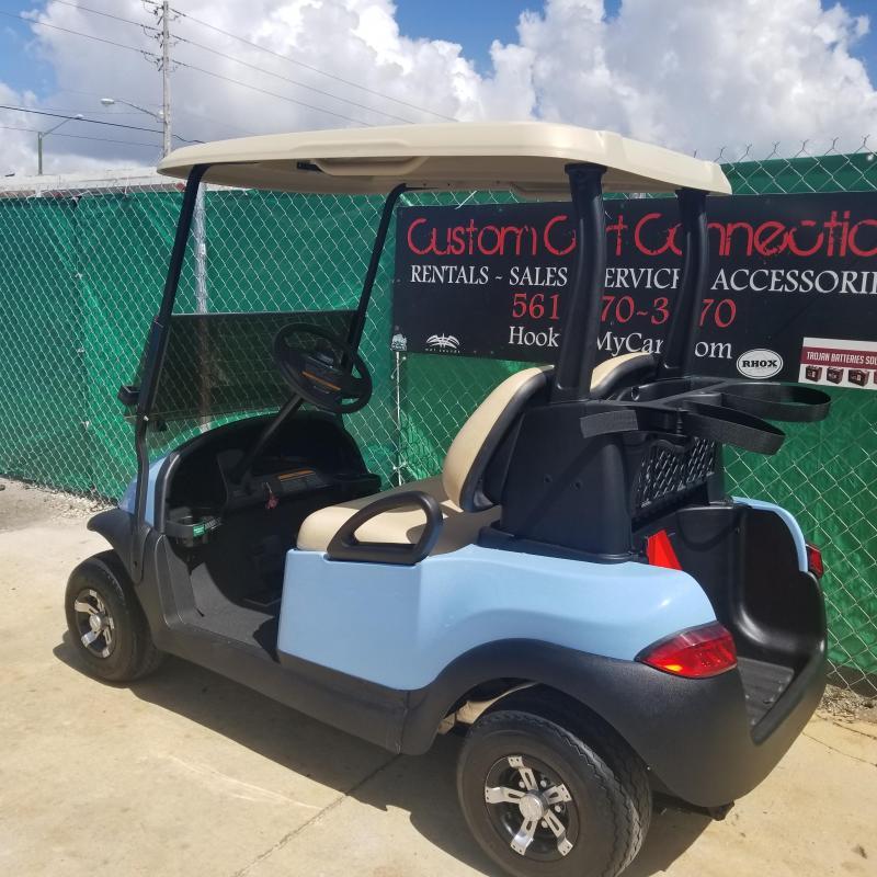 Sky Blue Club Car Precedent With High Speed Code