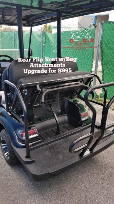 2019 ICON i20 Golf Cart w/Bag Attachment