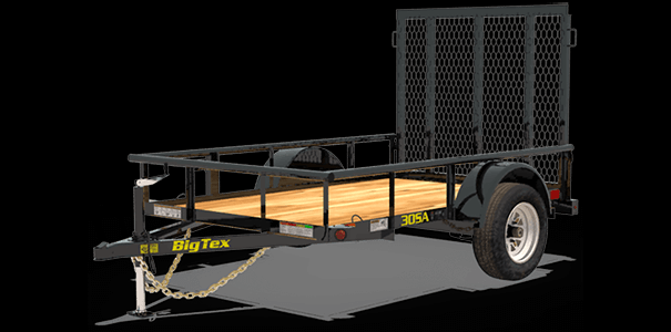 30SA-12 Single Axle Utility Trailer
