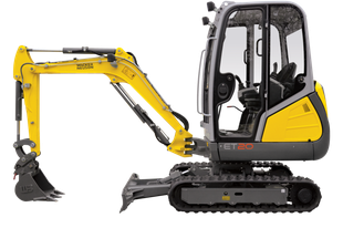 "EZ2.0 Mini Excavator W/12"" Bucket"