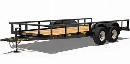 70PI-X-20 Flatbed Trailer