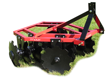 Angle Frame Disc Harrow 48""