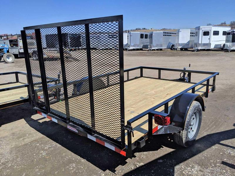 NEW 2019 Quality 6x12 General Duty Utility Trailer w/ LED Lights