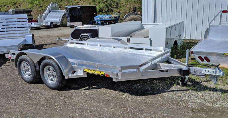 """NEW 2020 Aluma 6'6"""" x 12 Tandem Utility w/ Underbody Ramps"""