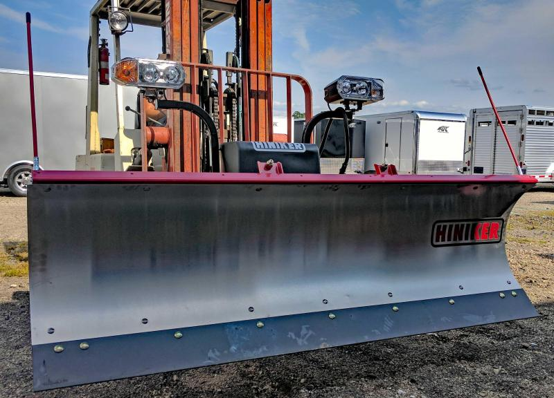 NEW Hiniker 7.5' Mid-Size Stainless Steel Snow Plow- 1 LEFT IN STOCK