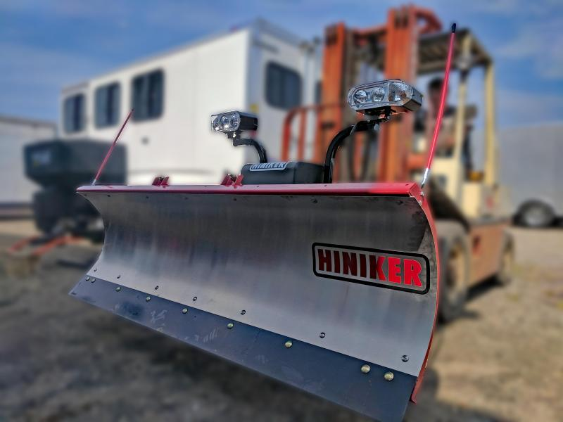 NEW Hiniker 7.5' Mid-Size Stainless Steel Snow Plow