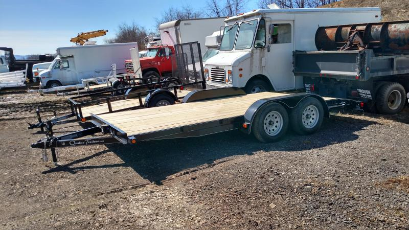 NEW 2019 Quality 16'  Econo Wood Deck Car Hauler in Ashburn, VA