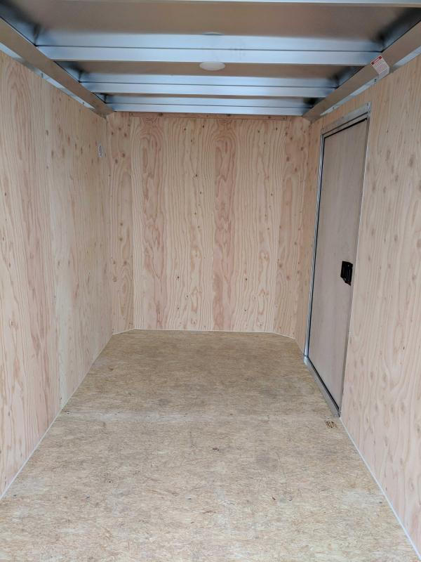 "NEW 2019 ATC 5X8 ""Raven"" Aluminum Cargo w/ Barn Doors"