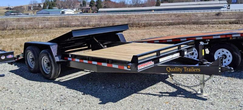 NEW 2019 Quality 20' (6'+14') General Duty Lo Pro Split Tilt Trailer