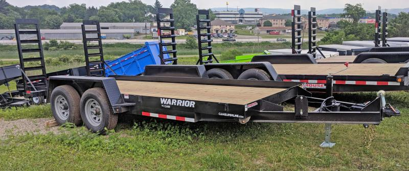 NEW 2019 CAM 16' WARRIOR Equipment Trailer w/ Stand Up Ramps in Ashburn, VA