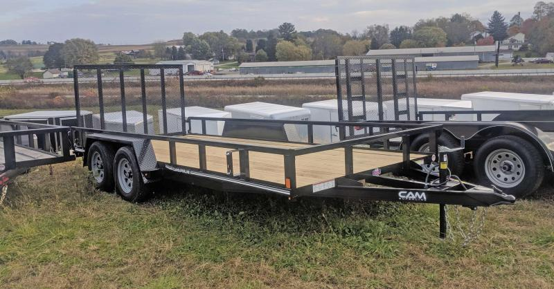 NEW 2019 CAM 7x14 Tandem Utility Trailer in Ashburn, VA