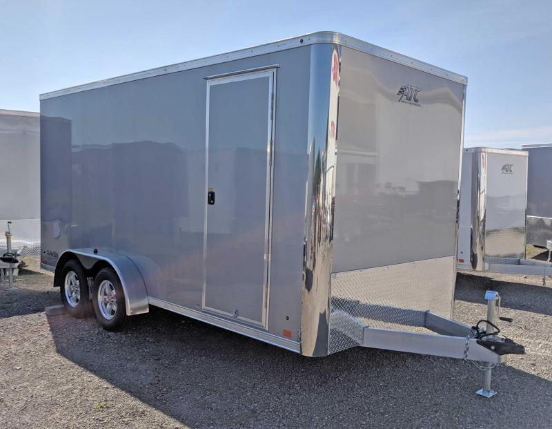 "NEW 2019 ATC 7x16 Raven Cargo Trailer w/ Ramp Door & 12"" Additional Height"