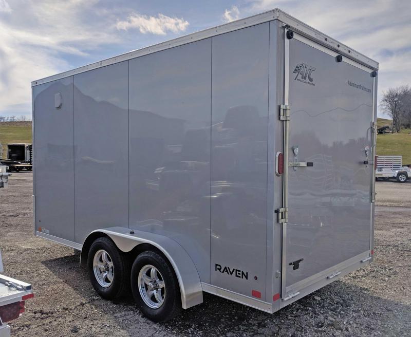 "NEW 2018 ATC 7X14 ""RAVEN"" Aluminum Cargo Trailer w/Ramp & 12"" Additional Height"