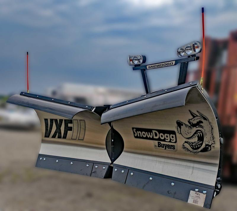 CALL FOR SALE PRICE!! NEW SnowDogg 9.5' II V-Flare Stainless Steel Snow Plow