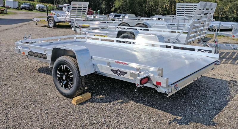 "NEW 2020 Aluma 6'5"" X 12 HD Utility Trailer w/ Slide Out Ramp"