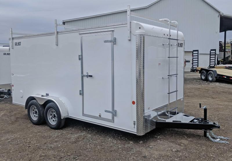 NEW 2019 Car Mate 7x18 HD Custom Contractor Trailer w/ Ramp Door in Ashburn, VA