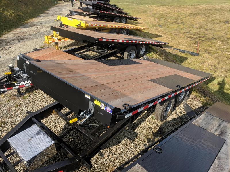 "NEW 2018 Cam Superline 20' Deckover ""POWER UP & DOWN"" Tilt Trailer"