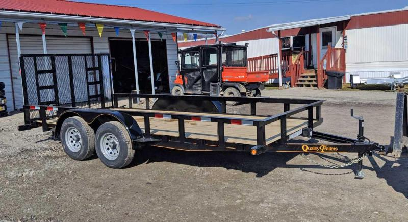 NEW 2019 Quality 7x20 General Duty Utility Trailer (NO DOVE)