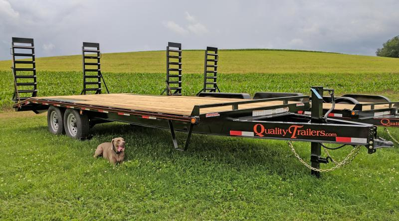 NEW 2019 Quality 18+4 General Duty Deckover Tagalong Trailer