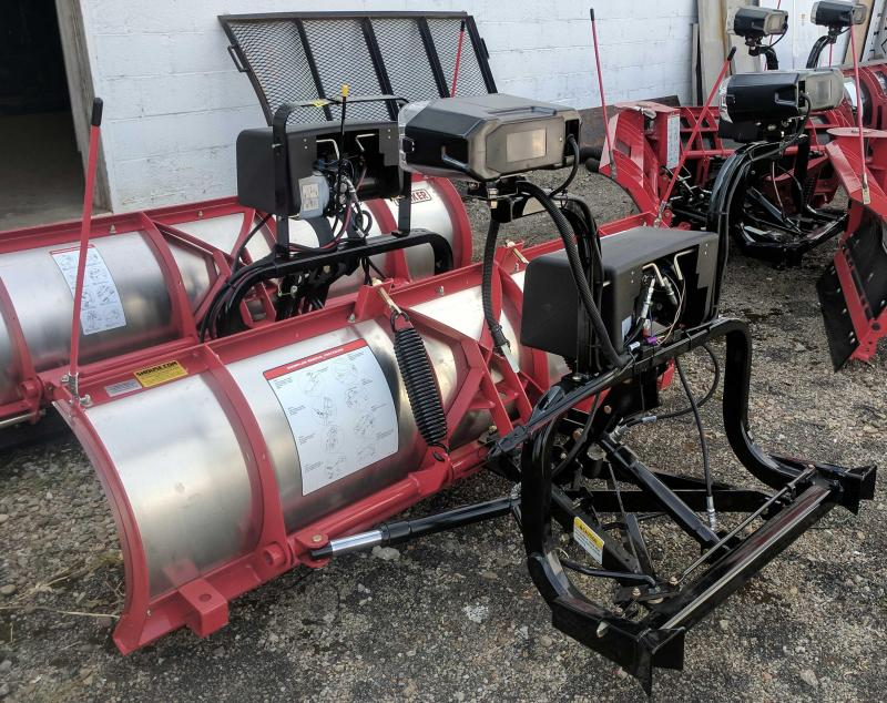 NEW Hiniker 8' High Performance Stainless Steel Torsion Spring Snow Plow- 2 LEFT IN STOCK