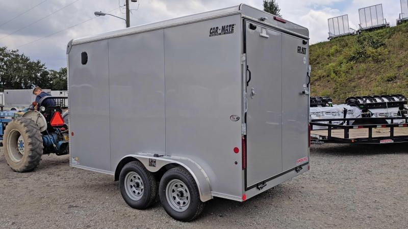 NEW 2019 Car Mate Trailers 7X12 HD Custom Cargo Trailer w/ Ramp Door