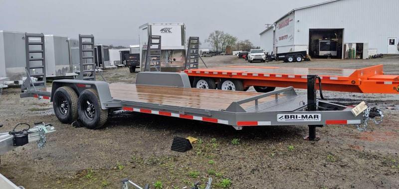 NEW 2019 Bri-Mar 20' HD Lo Pro Equipment Dump w/ 5' Stand Up Ramps in Ashburn, VA