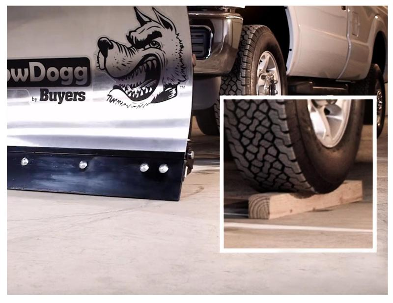 NEW SNOWDOGG 7.5' MD Gen 2 Stainless Steel Snow Plow