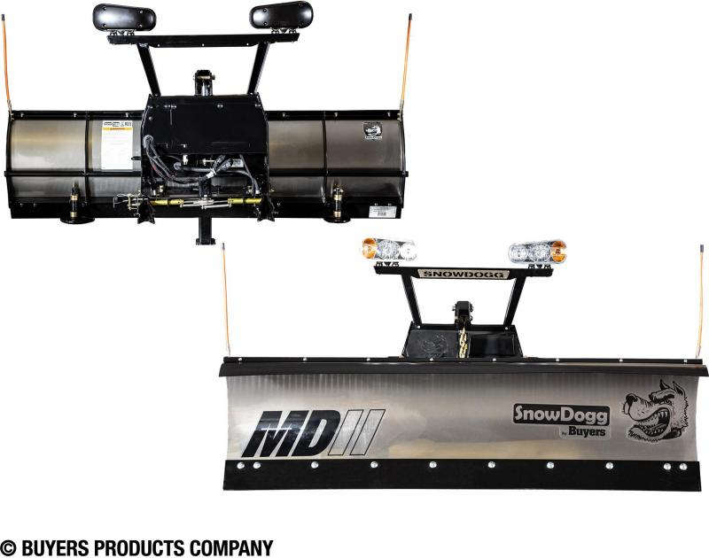 NEW SNOWDOGG 7.5' Extreme Duty Gen 2 Stainless Steel Snow Plow