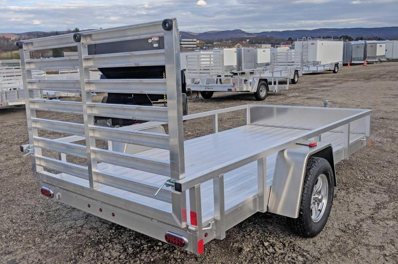 NEW 2018 ATC 6x12 Utility Trailer w/ Aluminum Wheels & Gravel Guard