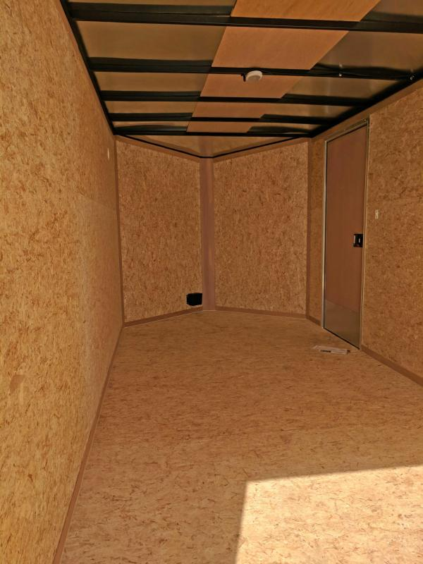 NEW 2020 Cargo Express 7x16 XLW V-Nose Cargo w/ Barn Doors