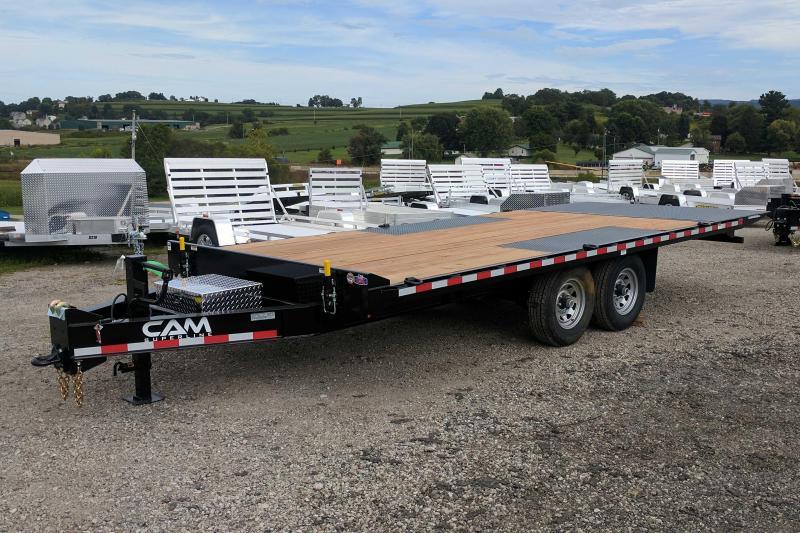 NEW 2018 Cam Superline 20' Deckover Full Tilt Trailer