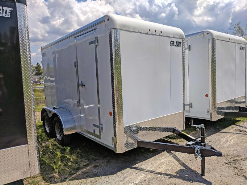 "NEW 2018 Car Mate 6x12 Sportster HD Cargo Trailer w/ Rear Ramp Door & 6"" Additional Height"