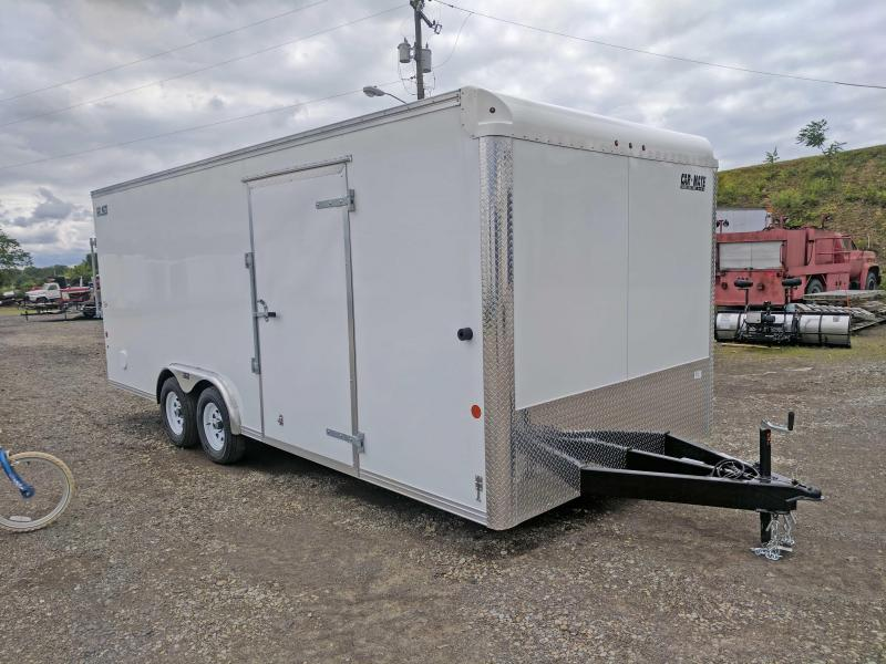 NEW 2019 Car Mate 8.5 x 20 HD Custom Cargo Trailer w/ Rear Barn Doors-Great Tool & Equipment Trailer!