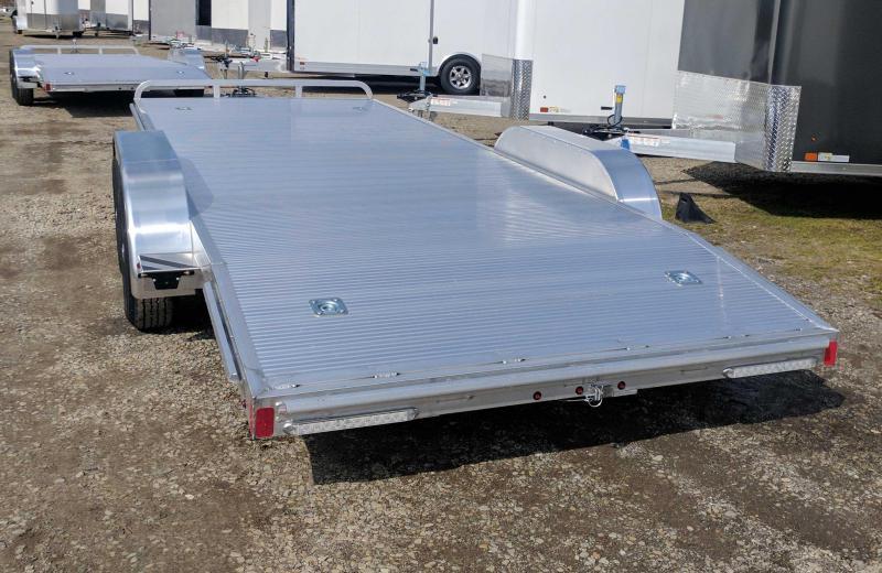 """NEW 2019 ATC 16' """" ARROW CH-X"""" Aluminum Car Hauler"""