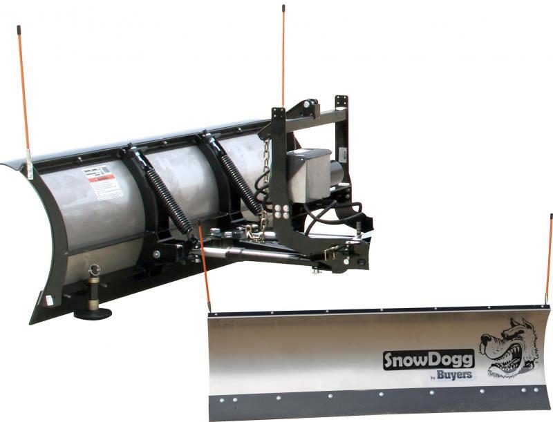 NEW SNOWDOGG 6' UTV Stainless Steel Plow