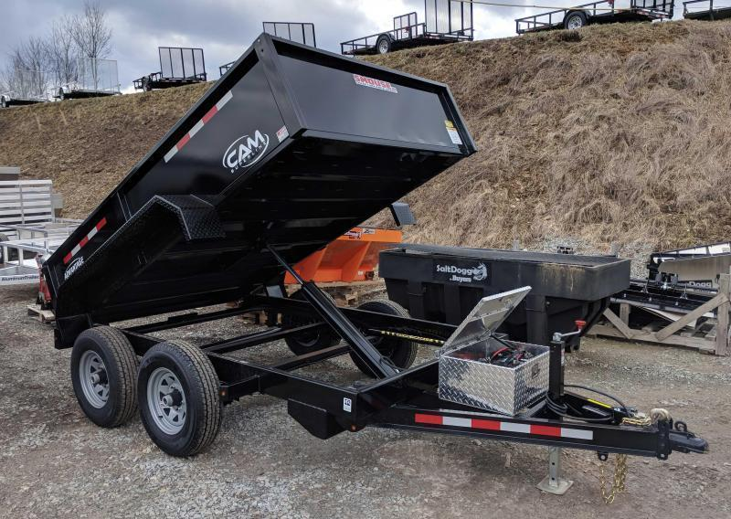 "NEW 2019 CAM ""Advantage"" 6X10 Lo Pro Dump Trailer in Ashburn, VA"