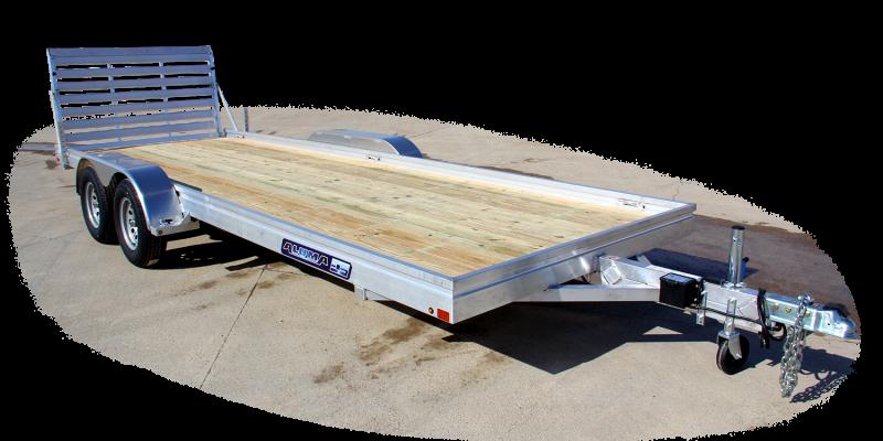 "NEW 2019 Aluma 6'6"" X 16 Tandem Utility Trailer w/ Aluminum Deck (Coming in August!)"