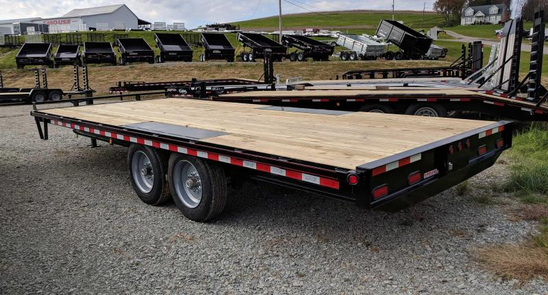NEW 2019 Quality 20' HD PRO Deckover Tagalong Equipment Trailer