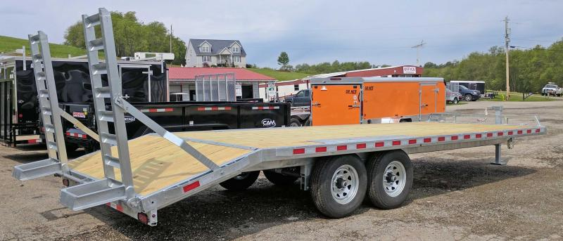NEW 2019 Load Rite 20+4 Deckover Tagalong Trailer w/ Stand up Ramps
