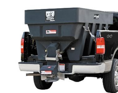 NEW SALTDOGG 2.0 Cu. Yd. Poly Hopper Salt Spreader w/ Standard Chute