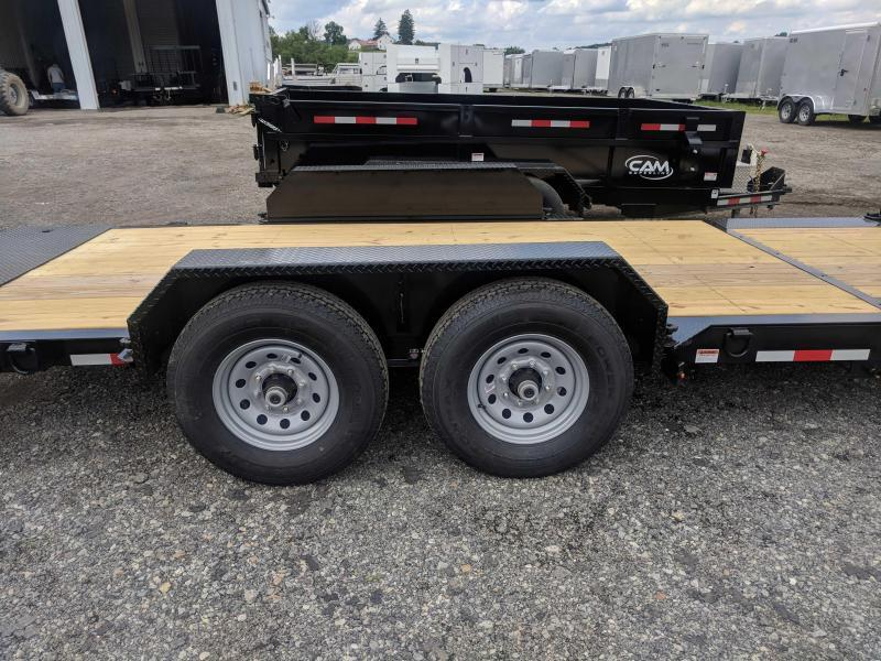 NEW 2019 CAM 19' (4'+15') XW Lo Pro Split Tilt Trailer