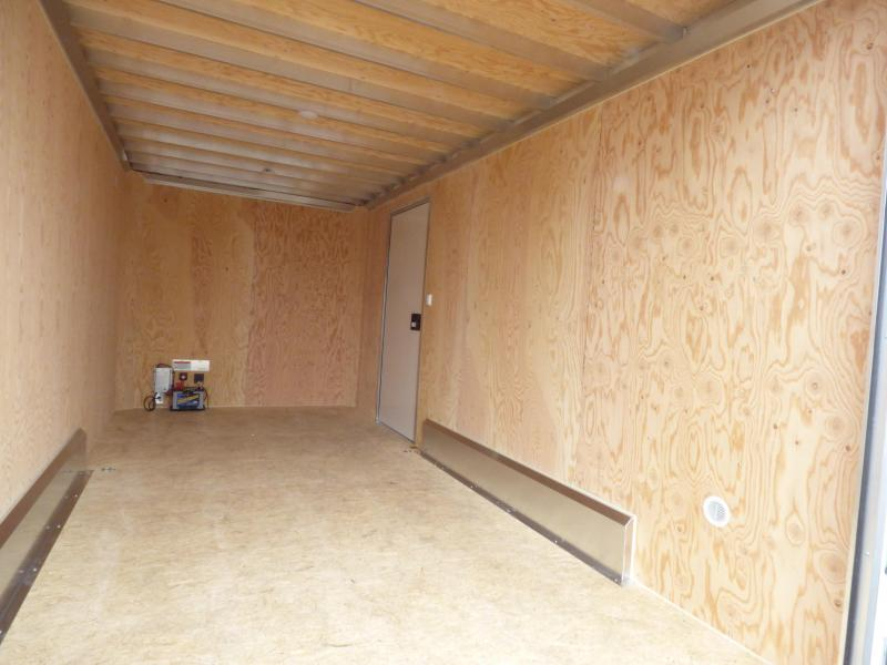 2018 ATC 7.5 x 16 Contractor Package Enclosed Cargo Trailer