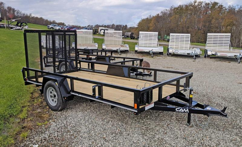 NEW 2019 Cam 6x12 Utility Trailer w/Spring Assist Lay Flat Gate in Ashburn, VA