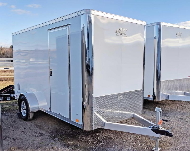 "NEW 2019 ATC 6X12 ""RAVEN"" Aluminum Cargo Trailer w/Barn Doors in Ashburn, VA"