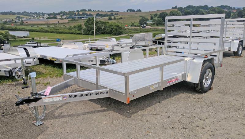 NEW 2019 ATC 6x12 Utility Trailer w/ Aluminum Wheels