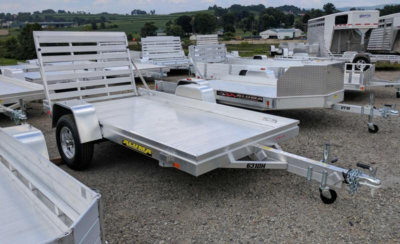 "NEW 2020 Aluma 5'3"" X 10 HD Utility Trailer"