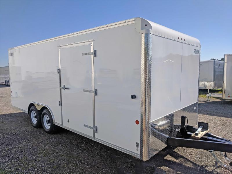 NEW 2018 Car Mate 8.5 x 20 HD Car Hauler w/ Ramp Door (LANDSCAPE PACKAGE)
