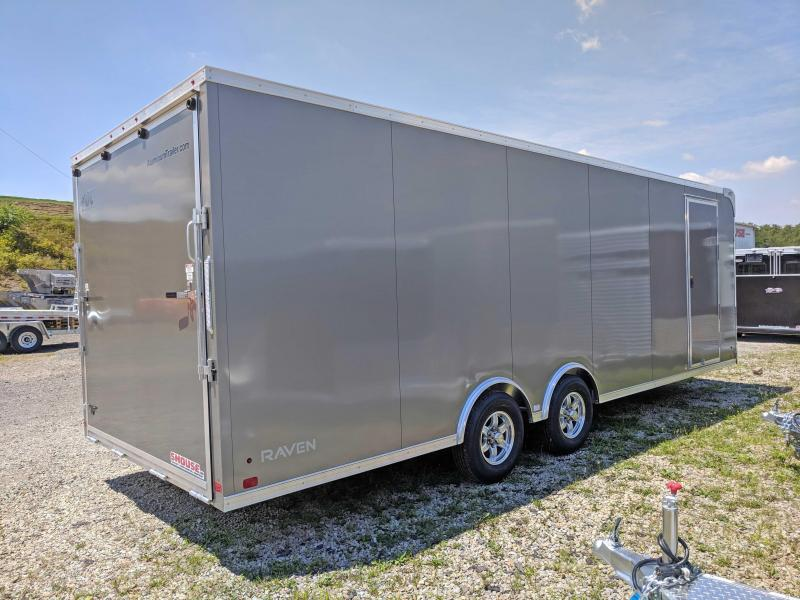 NEW 2019 ATC 8.5NEW 2019 ATC 8.5 x 24 HD Raven Car Hauler w/ Ramp Door