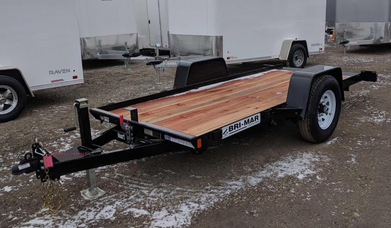 NEW 2019 Bri-Mar 5x12 Single Axle Tilt Trailer