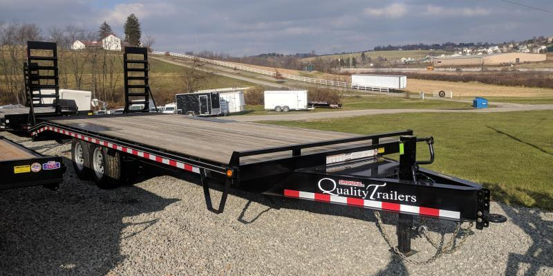 NEW 2018 Quality 19+4 HD PRO Deckover Tagalong Trailer w/Pop Up Dove Tail